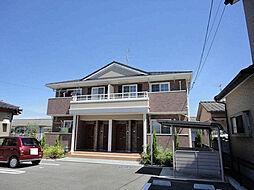 愛媛県松山市居相1丁目の賃貸アパートの外観