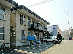 北海道札幌市清田区平岡二条3丁目の賃貸アパートの外観