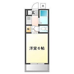 すづアパート[2階]の間取り