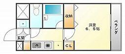 カームコート[2階]の間取り
