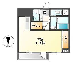 セントレイクセレブ徳川[2階]の間取り