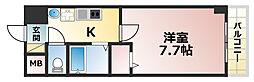 ネオハイム六甲[8階]の間取り
