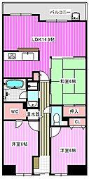 イングス法貴寺[5階]の間取り