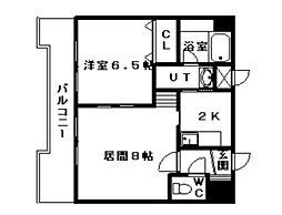 ストラッセ本郷[00602号室]の間取り