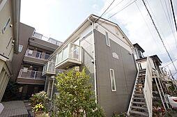神奈川県川崎市高津区二子1丁目の賃貸アパートの外観