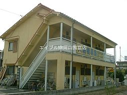 岡山県岡山市中区原尾島丁目なしの賃貸アパートの外観