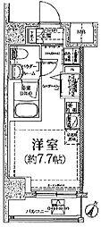 クラリッサ川崎グランデ[2階]の間取り