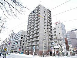 北海道札幌市中央区南四条西6丁目の賃貸マンションの外観