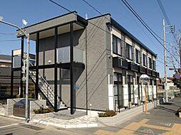 東京都江戸川区鹿骨1丁目の賃貸アパートの外観