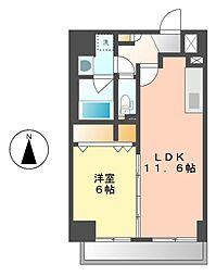 トンシェトア[2階]の間取り