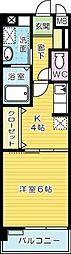 CROSSWAVE嵐山(クロスウェイブ嵐山[2階]の間取り