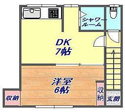 吉井コーポ[801号室]の間取り