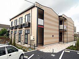 埼玉県草加市吉町3の賃貸アパートの外観