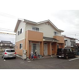 長野県佐久市前山の賃貸アパートの外観