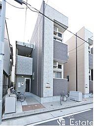 愛知県名古屋市中川区八剱町2丁目の賃貸アパートの外観