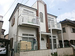 埼玉県所沢市美原町1丁目の賃貸アパートの外観