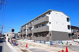 静岡県沼津市三枚橋竹ノ岬の賃貸アパートの外観