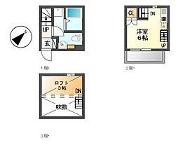 La casa felice[1階]の間取り