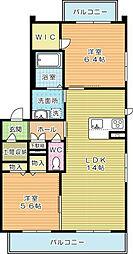 メゾンSuzuII[2階]の間取り