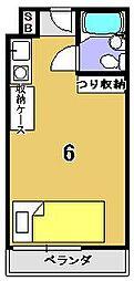 紫竹学生専用マンション コート紫竹[211号室]の間取り