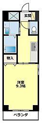 愛知県豊田市西町2丁目の賃貸マンションの間取り