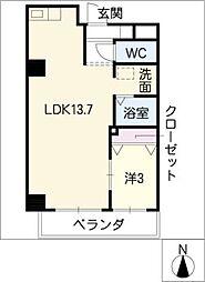 Y's STELLA415[7階]の間取り