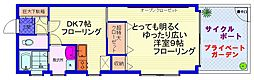 JR埼京線 板橋駅 徒歩7分の賃貸アパート 1階1DKの間取り
