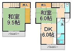 第三小澤ビル[3.4階号室]の間取り