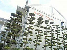 岡山県倉敷市下庄の賃貸アパートの外観