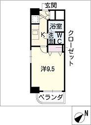 アーク徳重[3階]の間取り