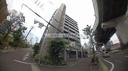 大阪府東大阪市高井田の賃貸マンションの外観