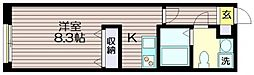 東京都世田谷区給田3丁目の賃貸マンションの間取り