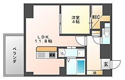 GLC平尾[2階]の間取り
