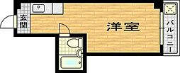 クイーンレジデンス[3階]の間取り