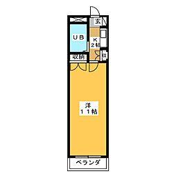 サンシャイン富士パートIII[2階]の間取り