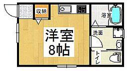 BMハイツ[1階]の間取り