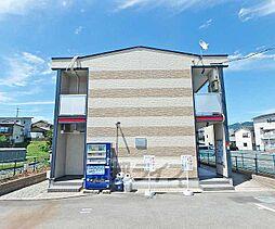 京都府亀岡市余部町榿又の賃貸アパートの外観