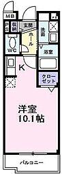大阪府堺市西区浜寺石津町東1丁の賃貸マンションの間取り