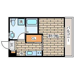 パロス須磨戸政町[103号室]の間取り