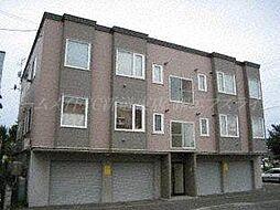 北海道札幌市東区北四十八条東6丁目の賃貸アパートの外観