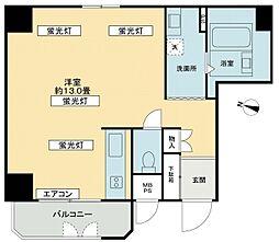 ライオンズマンション御堂本町[2階]の間取り