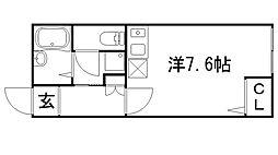 オリーブハウス[103号室]の間取り