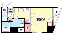 コンフォール元町[5階]の間取り