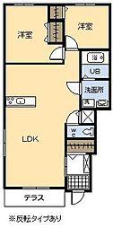 (新築)ルアナ[109号室]の間取り