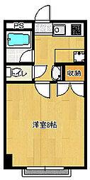 東千葉ハイリビング六番館[208号室]の間取り