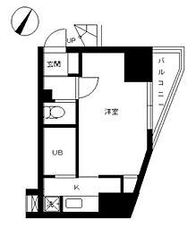 東京都文京区小石川4丁目の賃貸マンションの間取り