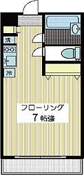 トウシンアパート2[2階]の間取り