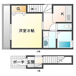 幸区小向西町新築計画[2階]の間取り
