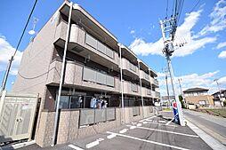 栃木県宇都宮市茂原2の賃貸マンションの外観