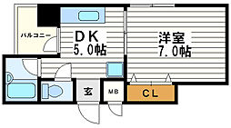 ヴェルドミール山忠松屋町[5階]の間取り